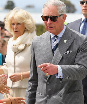 ON TOUR: Prince Charles and wife Camilla, Duchess of Cornwall.