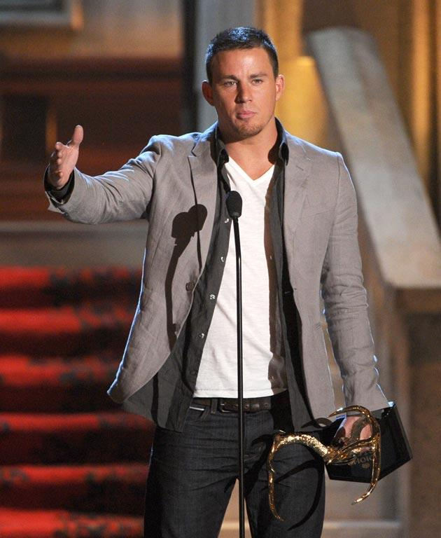 Channing Tatum presents an award onstage during Spike TV's 6th Annual Guys Choice Awards.