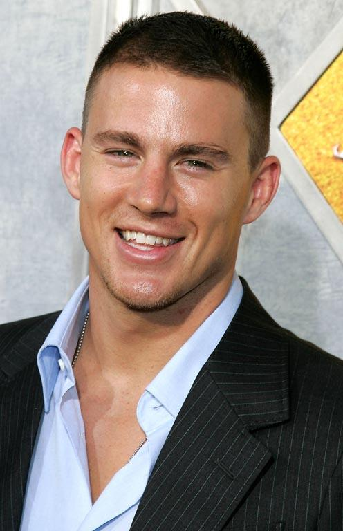 Channing Tatum at the premiere of Step Up.