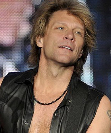 CONCERNED DAD: Jon Bon Jovi