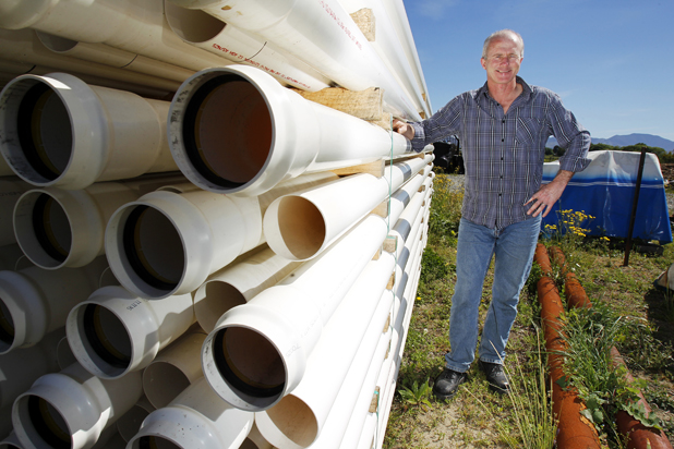 Pipeline to success: Stephen Leitch from Southern Water Engineering is one of the entrants in the 2012 Westpac Marlborough Chamber of Commerce Business Awards.