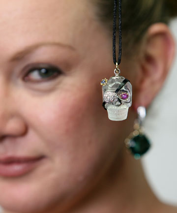 Jeweller Odette Anscombe-Smith has made custom jewellery for The Hobbit red carpet