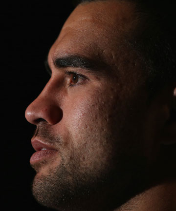 HARD PAST: Liam Messam recalls having to just as hard to get his first trip to Italy.