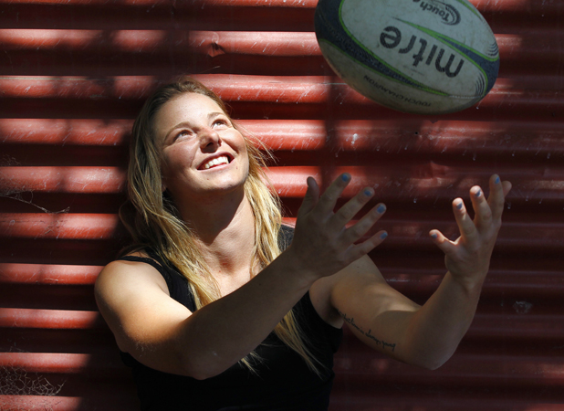 Multi-talented: One of Marlborough's top netballers, Zoe Johnson has discovered the sport of sevens and has wasted no time in proving her ability in an oval-ball code.