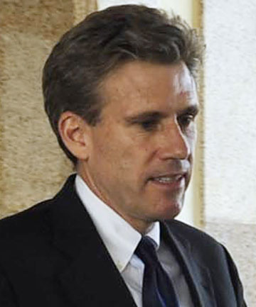 CHRIS STEVENS: Killed in an attack on the US embassy in Benghazi, Libya.