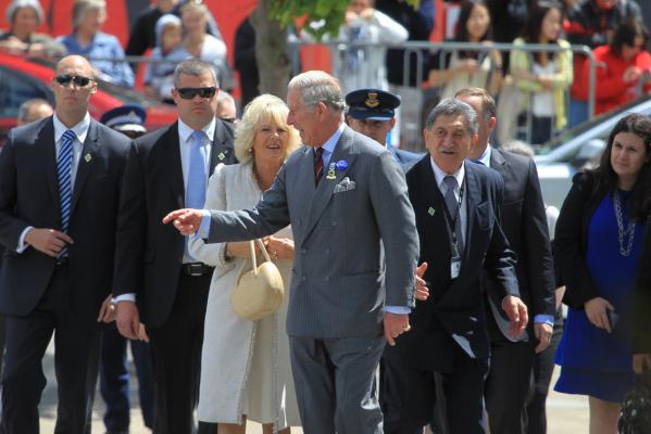 Prince Charles in Christchurch