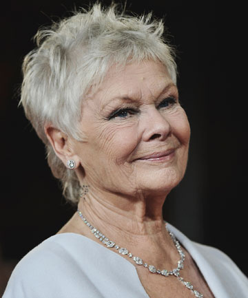 COOL: Dame Judi Dench earns fresh image with London rapper coining 'be cool' phrase: 'Keep it Dench'.