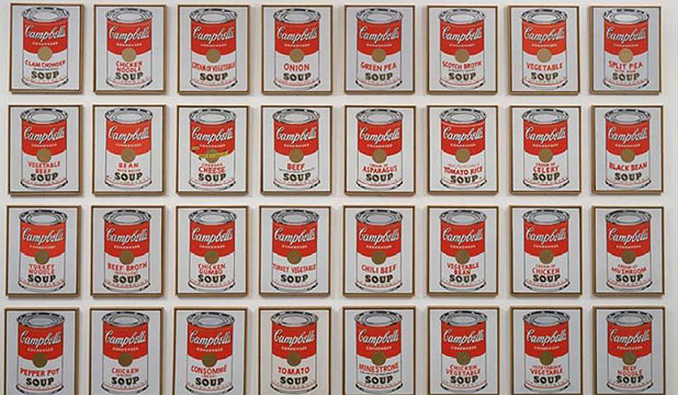SOUPED UP:  Andy Warhol's  star-studded legacy is coming to Wellington.