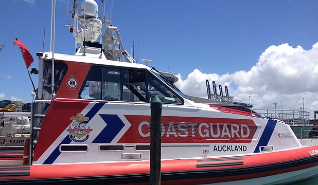 TRAGIC JOURNEY: The Coastguard vessel that responded to drowning.
