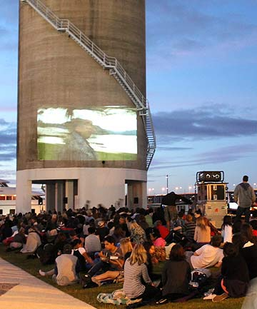GREAT OUTDOORS: Films will be screened in Silo Park this summer.
