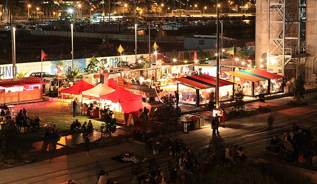 SILO PARK: The night markets will return as part of this summer's entertainment line-up.