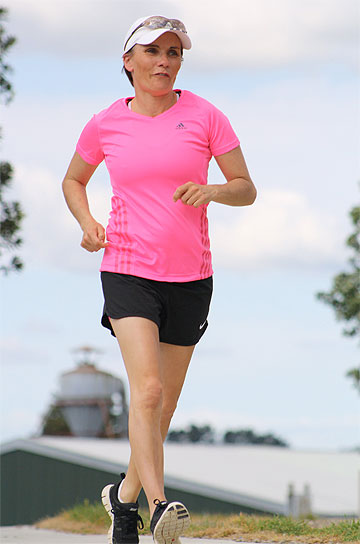 TALL ORDER: Kim Allan will attempt to run for 500km to raise money for charity.