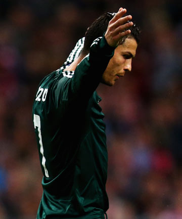 TOO EXPENSIVE: Alex Ferguson believes Cristiano Ronaldo will stay at Real Madrid because nobody else can afford to buy him.