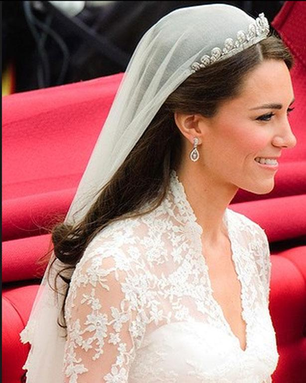 Fancy a side part do you? Catherine Middleton certainly did.