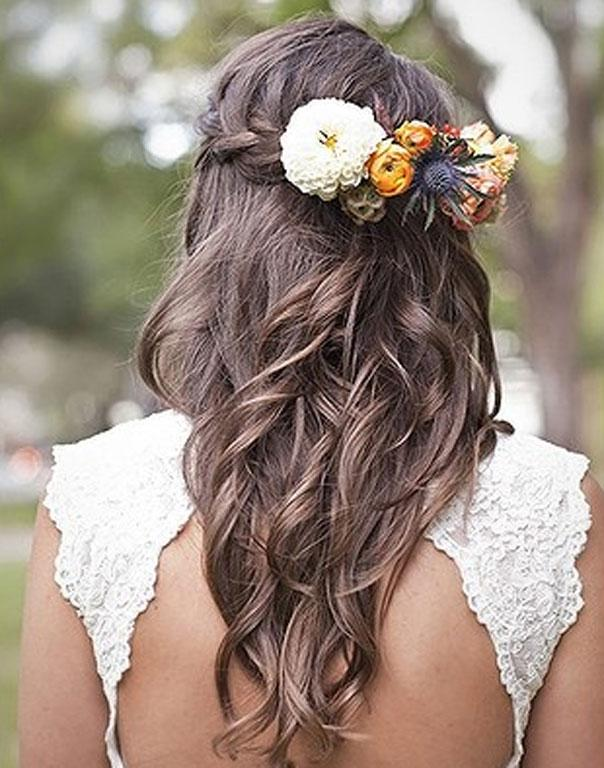 Have a florest add some of your favourite blooms to a hair clip and add a bit of flower power to your hair.