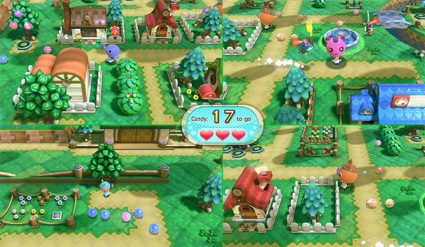 NINTENDO LAND: Visit a Nintendo theme park and enjoy 12 great attractions based on Nintendo properties.