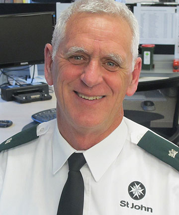 HONOURED: Stephen Cope will receive a Member of the Order of St John award for his  service to the organisation.
