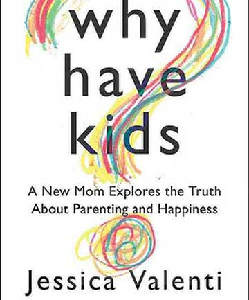 NEW BOOK: Jessica Valenti's new book on what it means to be a parent.