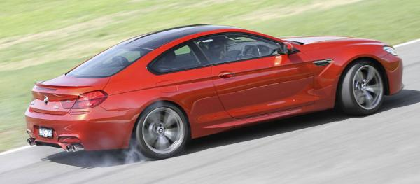 BMW M6 coupe.