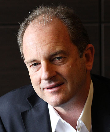 THE LEADER: David Shearer