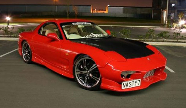 Mike Stapley's RX7