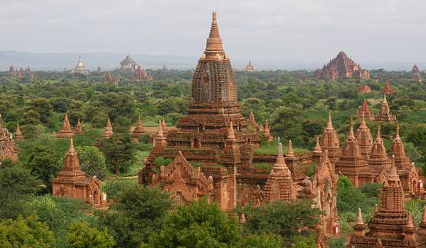 Pagodas of Bagan, Myanmar.