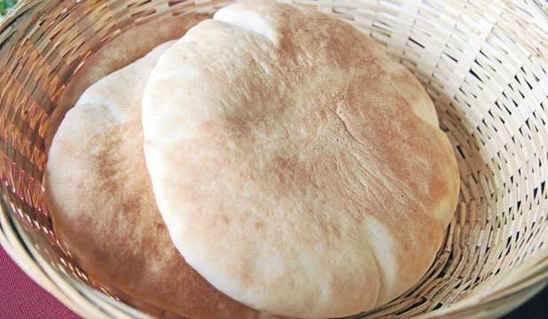 You can fill a pita bread with anything you fancy or roll it up for another great snack – the foldover.