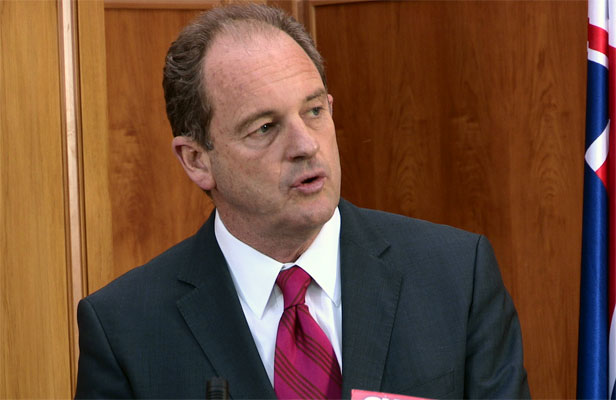 "DAVID SHEARER: Kicked David Cunliffe off the front bench after losing trust in him over his ""undermining""."