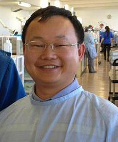 TALENTED LECTURER: Dr LiHong He.