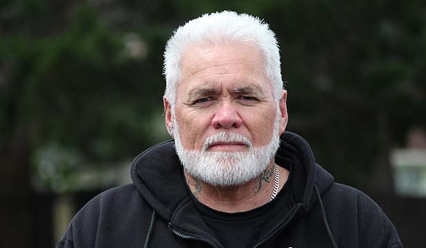 BETTER WAY: Phil Paikea is one of hundreds of men concluding their White Ribbon Ride at Papakura Marae this Sunday.