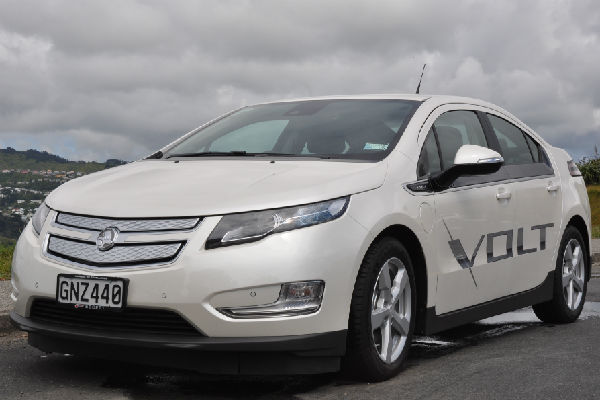 Easy on wallet: Holden says the petrol cost for the 635km drive to Auckland is about $92 for a normal car compared to $13 in the Volt.