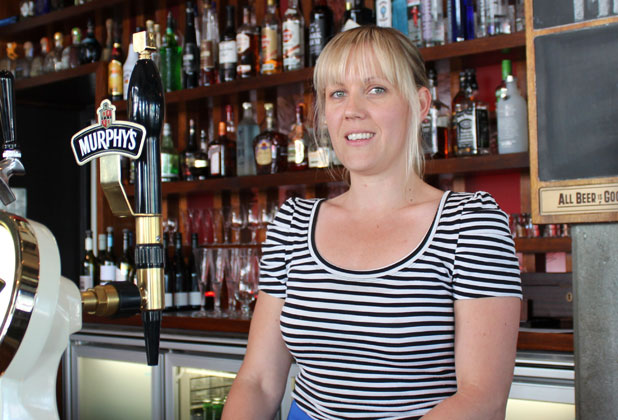 Winning host: Rachel Deegan, co-owner at Frederic's, has been recognised as Taranaki's most outstanding hostess at the recent Halamoana Hospitality Awards.