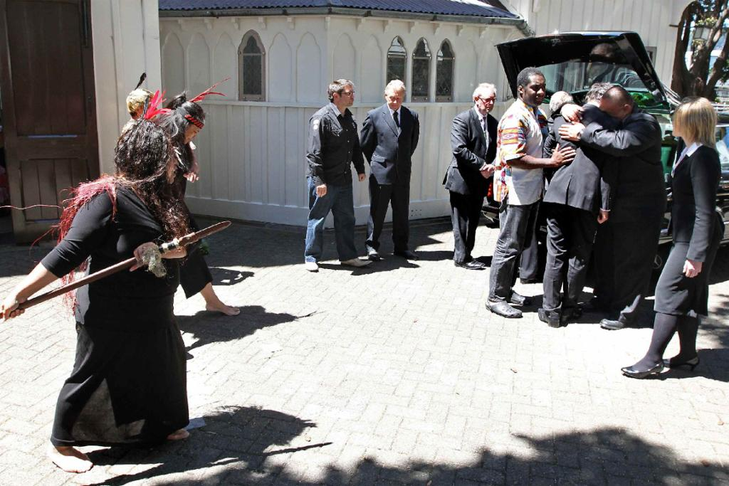 More than 600 people attended the funeral for Tawa women Amanda Dawn Taufale at Old St Paul's in Wellington.
