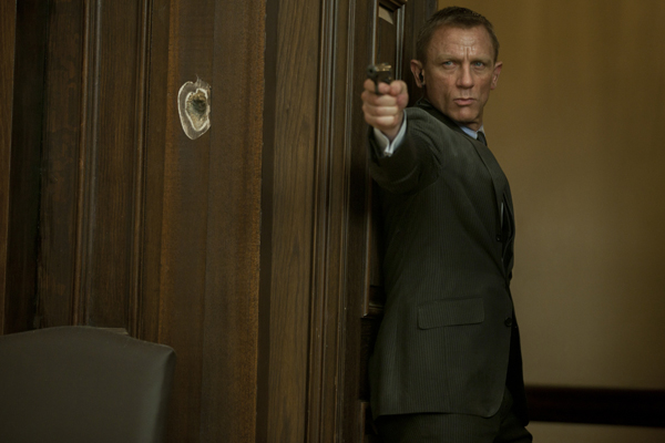 Mixed emotions: Daniel Craig as James Bond in Skyfall – there is a melancholy about him that no other Bond had.