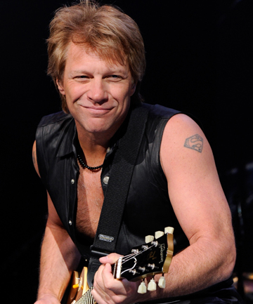 """TRAGEDY: Jon Bon Jovi says the support for his family in the wake of his daughter's overdose has been """"incredible""""."""