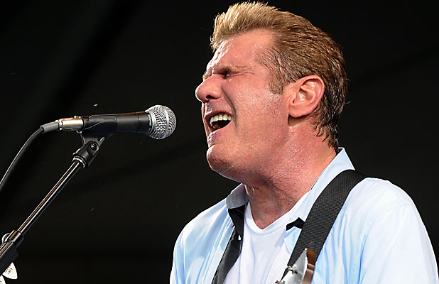 GLENN FREY: The Eagles singer will perform well known hits such as Hotel California. Pictured here at a festival in New Orleans in May 2012.
