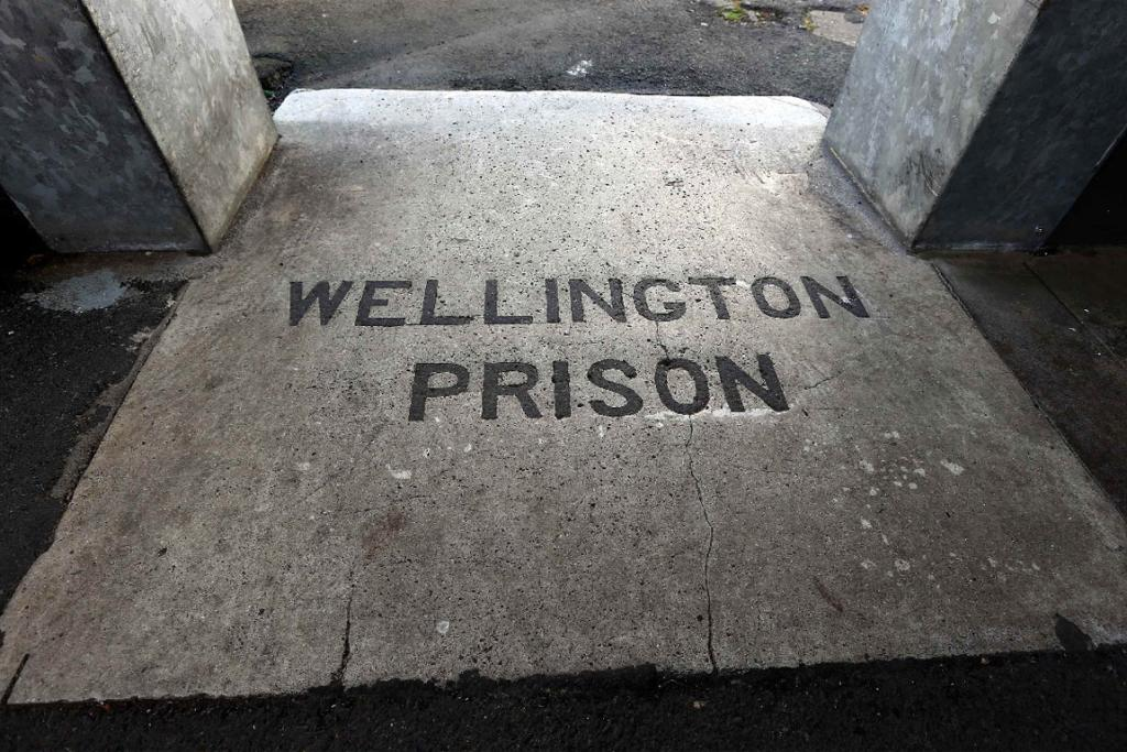 The entrance to Mt Crawford Prison.
