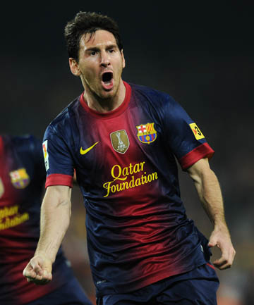 UNSTOPPABLE: Lionel Messi is destined to join the pantheon of great players says John Giles.