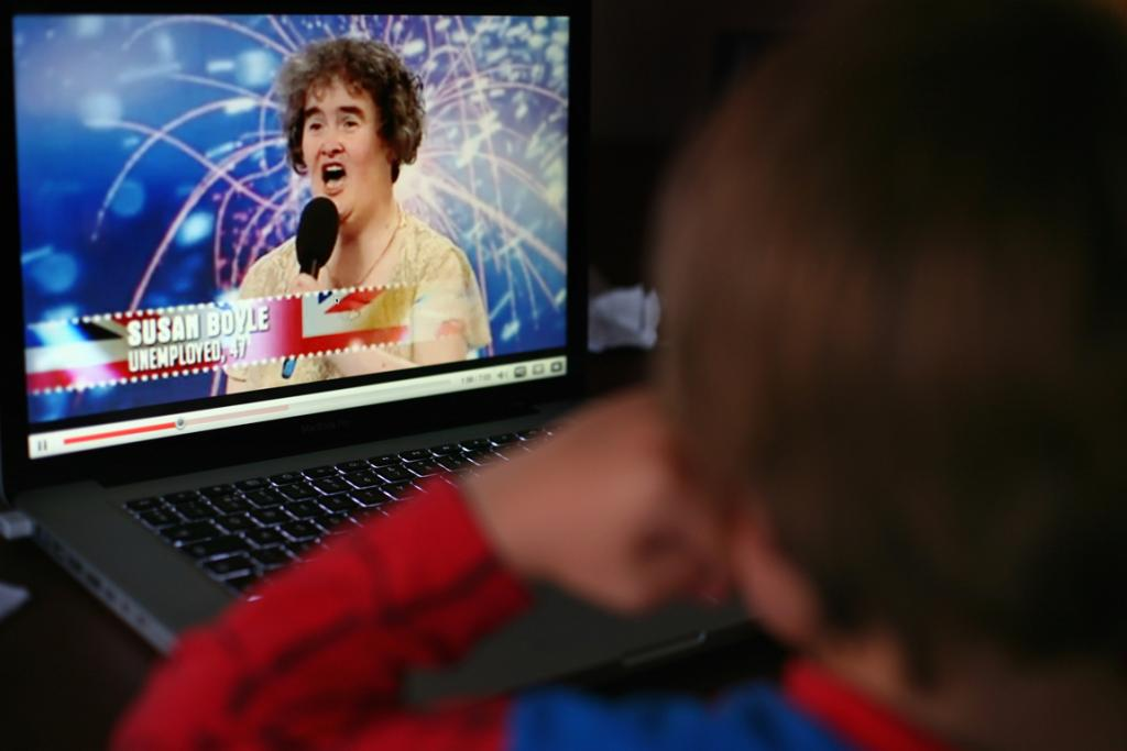 Where it all began for Susan Boyle, back in 2009.