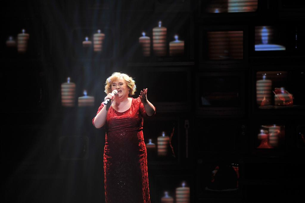 Susan Boyle makes a guest appearance during the musical about her rise to stardom, I Dreamed A Dream.