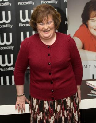 Susan Boyle's style transition