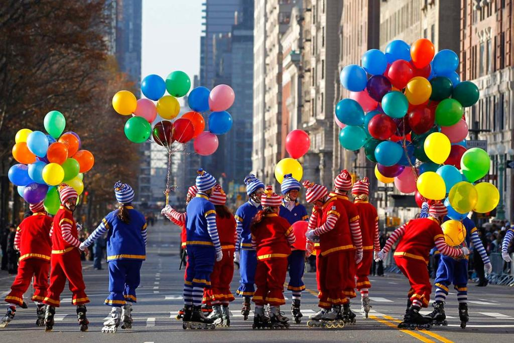 The 86th Macy's Thanksgiving day parade in New York.