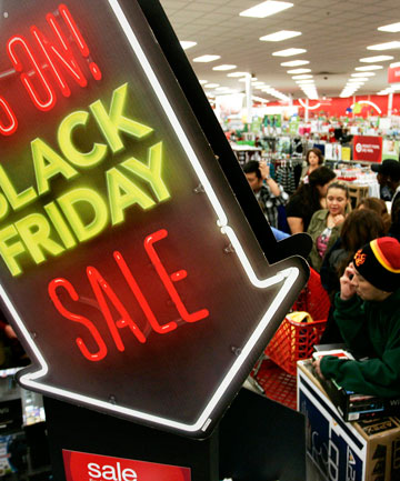 : The day after Thanksgiving, known as Black Friday, is traditionally the busiest day of shopping in the United States