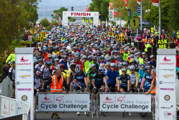 Taupo cycle challenge