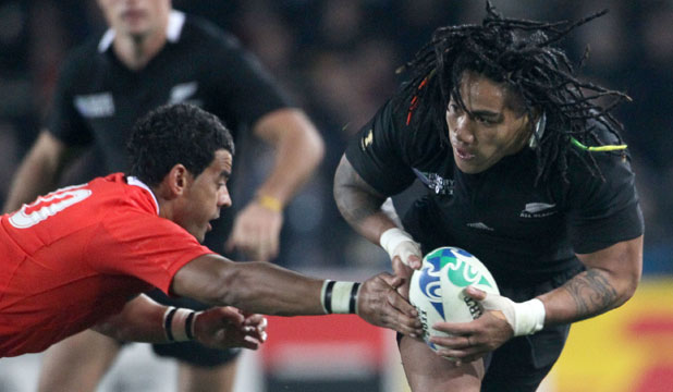 Tonga vs All Blacks