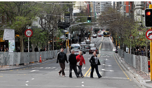 Willis St retailers had complained that council-installed pedestrian barriers were stifling their businesses.