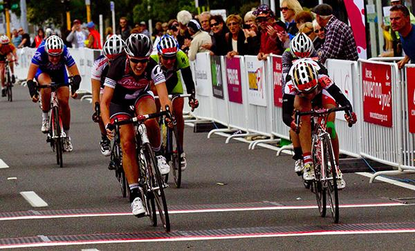 Rushlee Buchanan of Te Awamutu won the elite women's race.