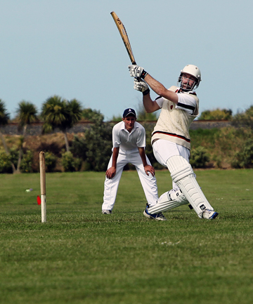 LOW SCORING: Timaru at bat against Star.