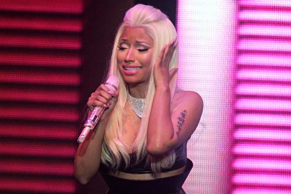 Nicki Minaj at Vector Arena
