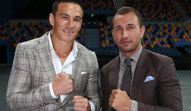 Quade Cooper and Sonny Bill Williams
